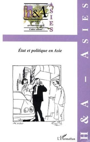 Couverture ETAT ET POLITIQUE EN ASIE