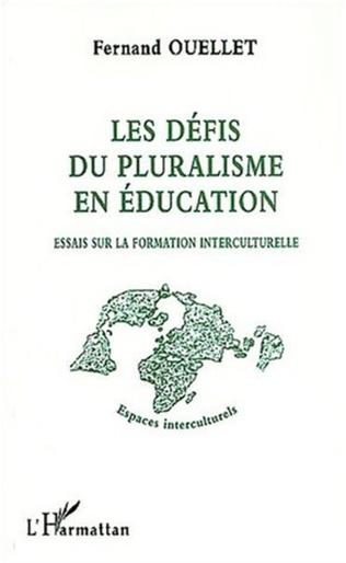 Couverture LES DÉFIS DU PLURALISME EN ÉDUCATION