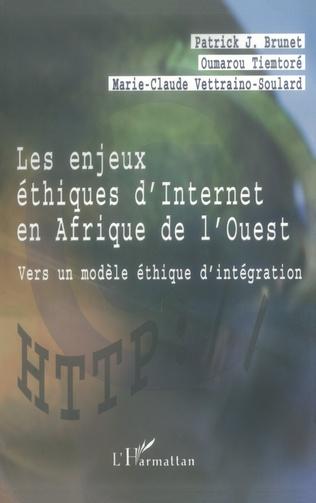 Couverture LES ENJEUX ÉTHIQUES D'INTERNET EN AFRIQUE DE L'OUEST