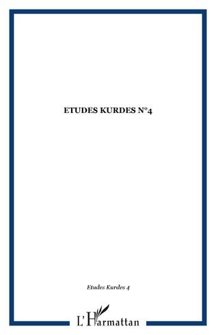 Couverture ETUDES KURDES N°4