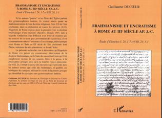 Couverture BRAHMANISME ET ENCRATISME À ROME AU IIIe SIÈCLE AP. J.C.
