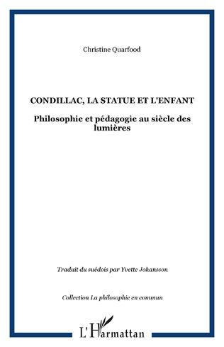 Couverture CONDILLAC, LA STATUE ET L'ENFANT