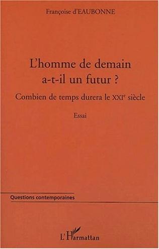 Couverture L'HOMME DE DEMAIN A-T-IL UN FUTUR ?