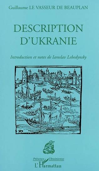 Couverture DESCRIPTION D'UKRANIE