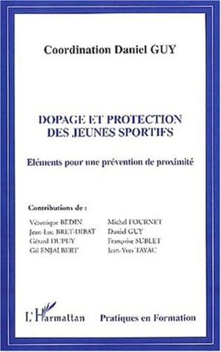 Couverture DOPAGE ET PROTECTION DES JEUNES SPORTIFS