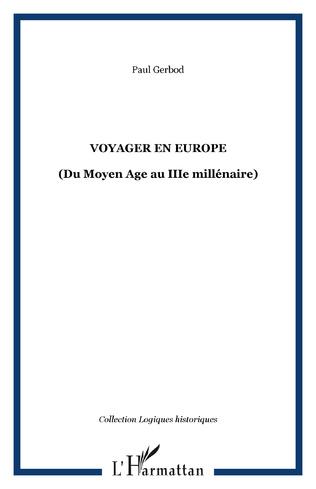 Couverture VOYAGER EN EUROPE