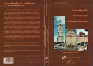 Couverture INTERCULTURALITÉ ET CRÉOLISATION EN GUYANE FRANÇAISE