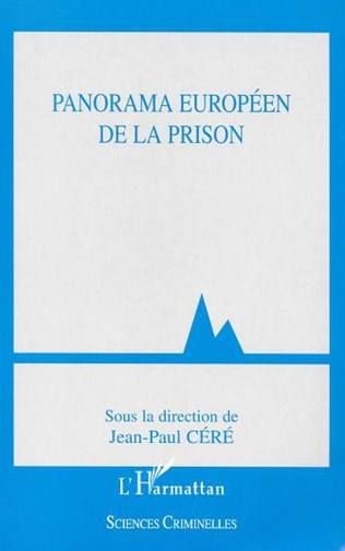 Couverture PANORAMA EUROPÉEN DE LA PRISON