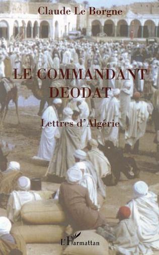 Couverture LE COMMANDANT DEODAT