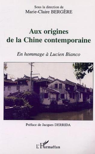 Couverture AUX ORIGINES DE LA CHINE CONTEMPORAINE