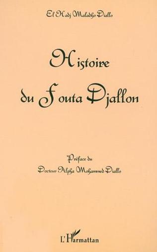 Couverture HISTOIRE DU FOUTA DJALLON