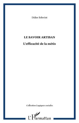 Couverture LE SAVOIR ARTISAN