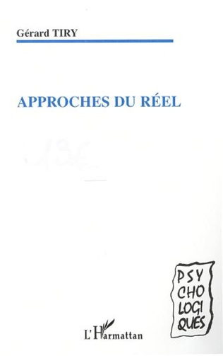 Couverture APPROCHES DU RÉEL