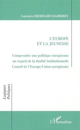Couverture L'EUROPE ET LA JEUNESSE