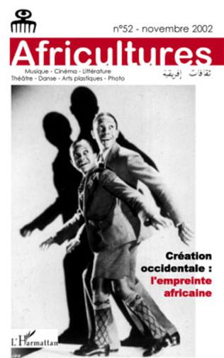 Couverture Création occidentale: l'empreinte africaine