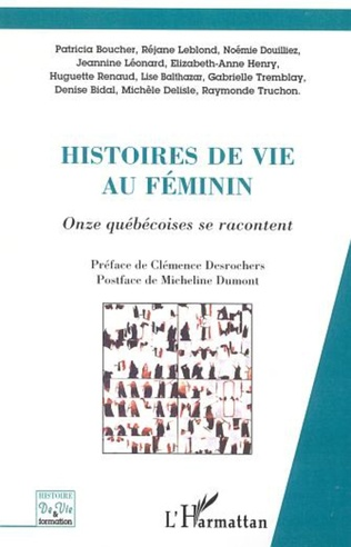 Couverture HISTOIRES DE VIE AU FÉMININ PLURIEL
