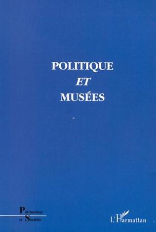 Couverture POLITIQUE ET MUSÉES