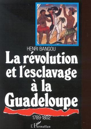 Couverture LA RÉVOLUTION ET L'ESCLAVAGE À LA GUADELOUPE 1789-1802