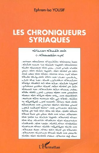 Couverture LES CHRONIQUEURS SYRIAQUES