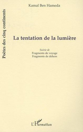 Couverture LA TENTATION DE LA LUMIÈRE