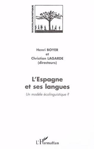 Couverture L'ESPAGNE ET SES LANGUES