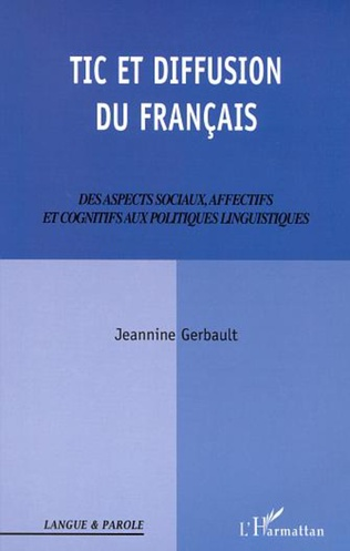 Couverture TIC ET DIFFUSION DU FRANÇAIS