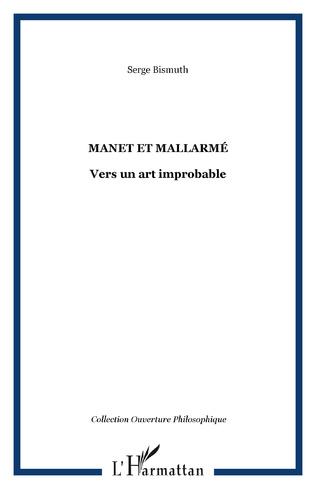 Couverture MANET ET MALLARMÉ