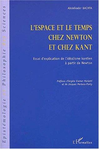 Couverture L'ESPACE ET LE TEMPS CHEZ NEWTON ET CHEZ KANT