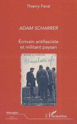 Couverture ADAM SCHARRER