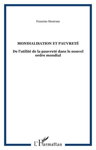 Couverture MONDIALISATION ET PAUVRETÉ
