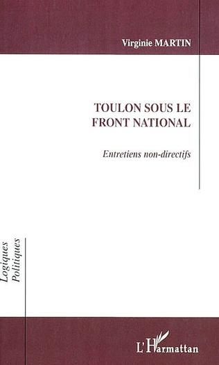 Couverture TOULON SOUS LE FRONT NATIONAL