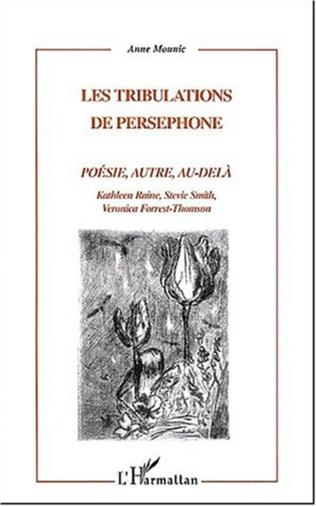 Couverture LES TRIBULATIONS DE PERSEPHONE