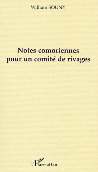 Couverture NOTES COMORIENNES POUR UN COMITÉ DE RIVAGES