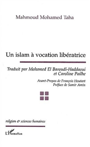 Couverture UN ISLAM À VOCATION LIBÉRATRICE