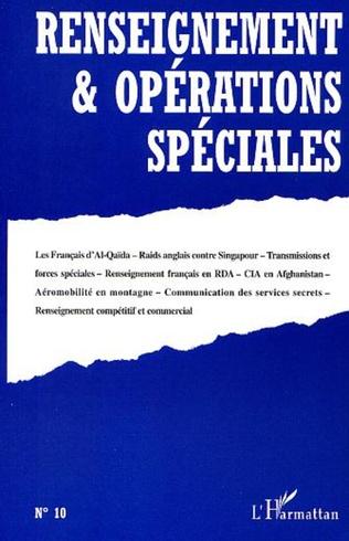 Couverture RENSEIGNEMENT ET OPÉRATIONS SPÉCIALES N°10