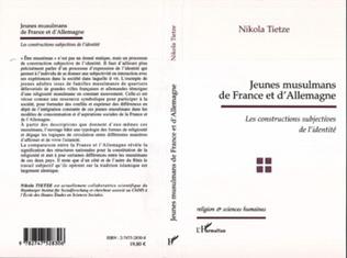Couverture JEUNES MUSULMANS DE FRANCE ET D'ALLEMAGNE