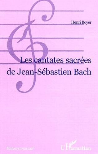 Couverture LES CANTATES SACRÉES DE JEAN-SÉBASTIEN BACH