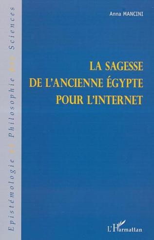 Couverture LA SAGESSE DE L'ANCIENNE ÉGYPTE POUR L'INTERNET