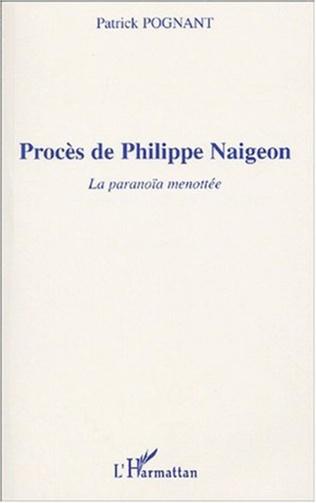 Couverture PROCÈS DE PHILIPPE NAIGEON