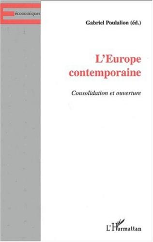 Couverture L'EUROPE CONTEMPORAINE