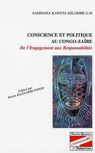 Couverture Conscience et politique au Congo-Zaïre