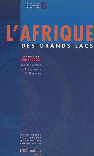 Couverture Annuaire 2001-2002