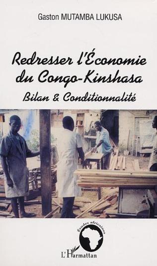 Couverture REDRESSER L' ECONOMIE DU CONGO-KINSHASA