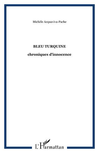 Couverture Bleu turquine