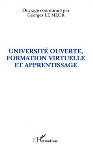 Couverture UNIVERSITÉ OUVERTE, FORMATION VIRTUELLE ET APPRENTISSAGE