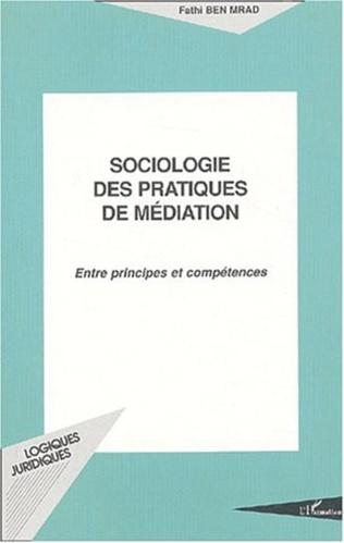 Couverture SOCIOLOGIE DES PRATIQUES DE MÉDIATION