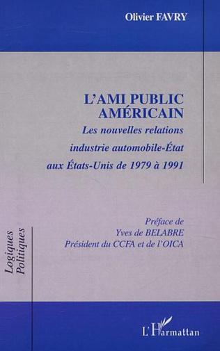 Couverture L'AMI PUBLIC AMÉRICAIN