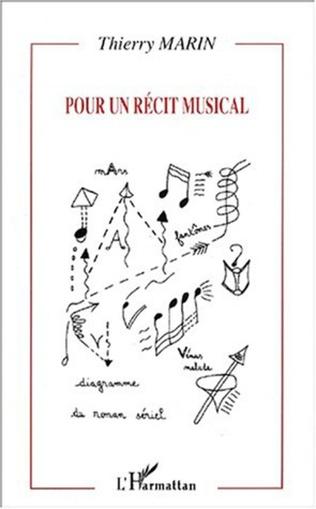 Couverture POUR UN RÉCIT MUSICAL