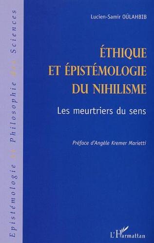 Couverture ÉTHIQUE ET ÉPISTÉMOLOGIE DU NIHILISME