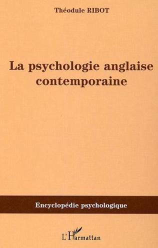 Couverture LA PSYCHOLOGIE ANGLAISE CONTEMPORAINE